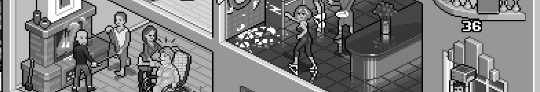 Superstitions isometric pixel art