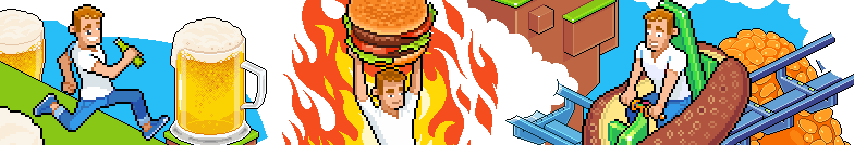 SlimmingWorld pixel art illustration